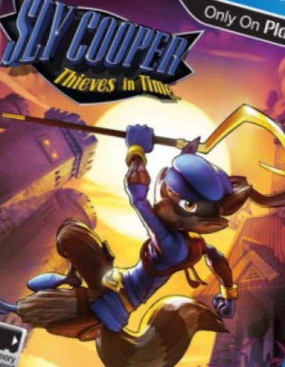 Sly Cooper: Thieves in Time на PS Vita выйдет 5 февраля 2013